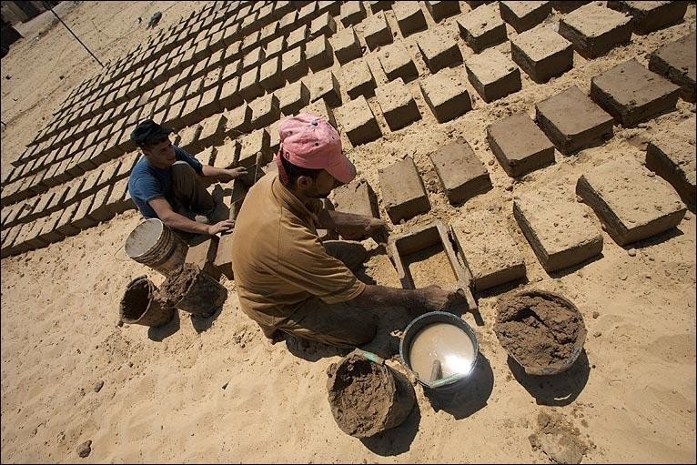 mud-bricks